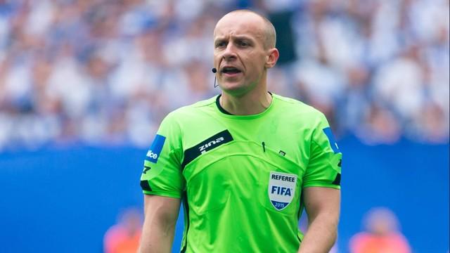UEFA: Szymon Marciniak wśród 18 sędziów głównych