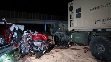 08-06-2016 10:08 Wypadek podczas manewrów Anakonda-16. Zginął cywil