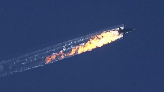 Ciało zabitego pilota Su-24 przygotowane do przekazania Rosji