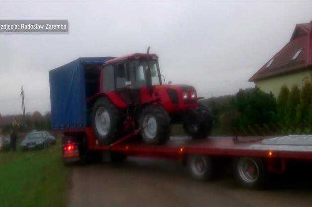 Komornik odpowie za zabranie traktora