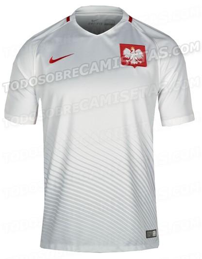 Wyciek koszulek polskiej reprezentacji