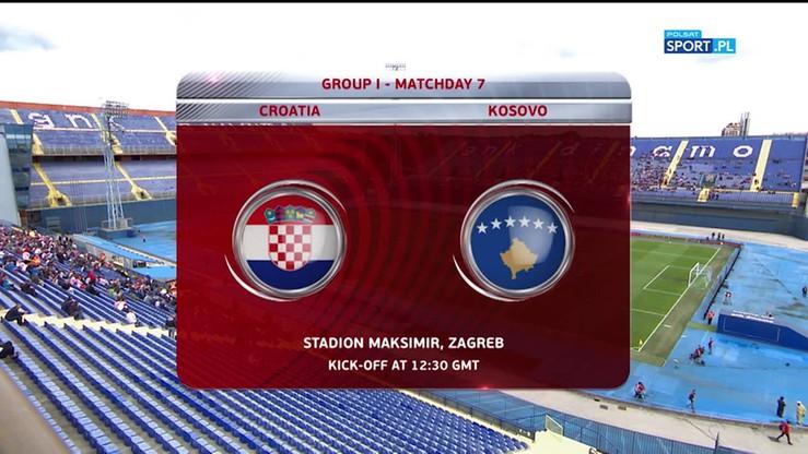 Chorwacja - Kosowo 1:0. Skrót meczu