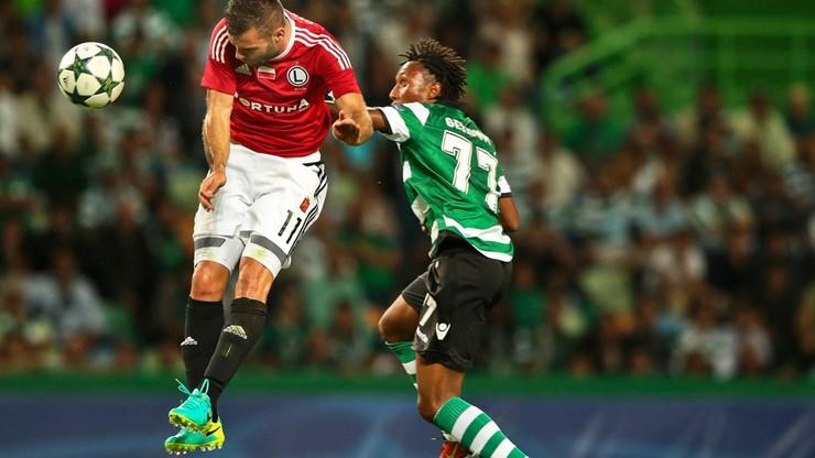 LM: Legia gorsza od Sportingu, ale tym razem podjęła walkę