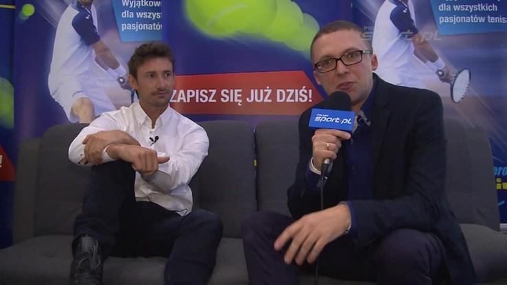 Juan Carlos Ferrero o karierze i otwarciu szkoły tenisa w Polsce