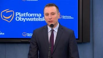 """06-04-2016 11:45 """"Wysuwa argument siły"""". PO chce wyjaśnień od Ziobry ws. pisma do TK"""