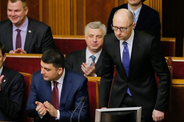 Jest koalicja na Ukrainie. Jaceniuk ponownie premierem