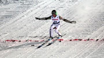 2017-01-15 Prevc nie mógł skoczyć, bo… zgubił nartę (WIDEO)