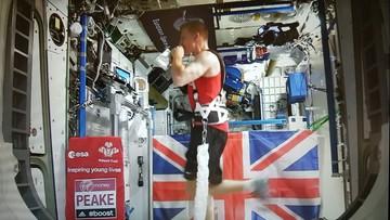 24-04-2016 22:39 Brytyjski astronauta pokonał maraton. 400 kilometrów nad Ziemią