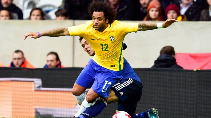 Towarzyski triumf Brazylii. Piękny gol Marcelo