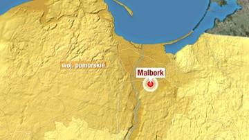 04-02-2016 07:59 Wybuch gazu w Malborku. Mieszkańcy kamienicy ewakuowani