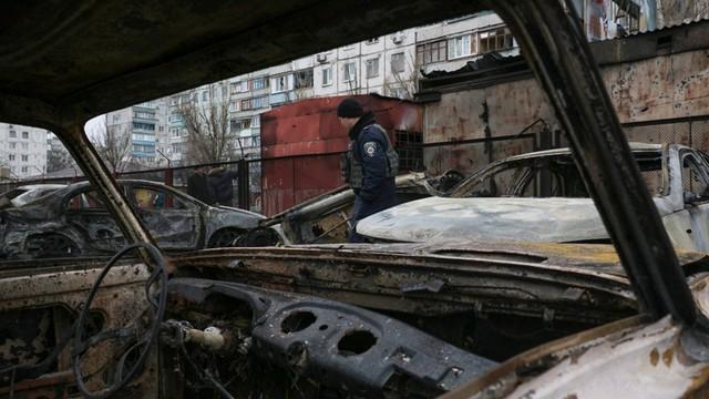 Ukraina: Polacy z Mariupola: nie chcemy jałmużny, lecz życia w pokoju