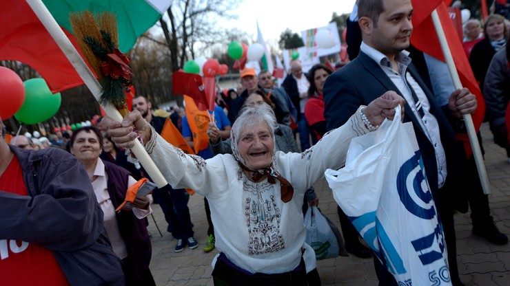 """Wybory parlamentarne w Bułgarii. Z polem """"Nie popieram nikogo"""""""