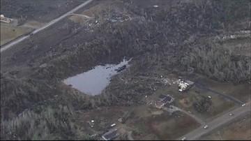 28-12-2015 05:03 USA: do 34 wzrosła liczba ofiar śmiertelnych tornad i powodzi na południu kraju