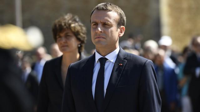 Macron po raz pierwszy traci w sondażach