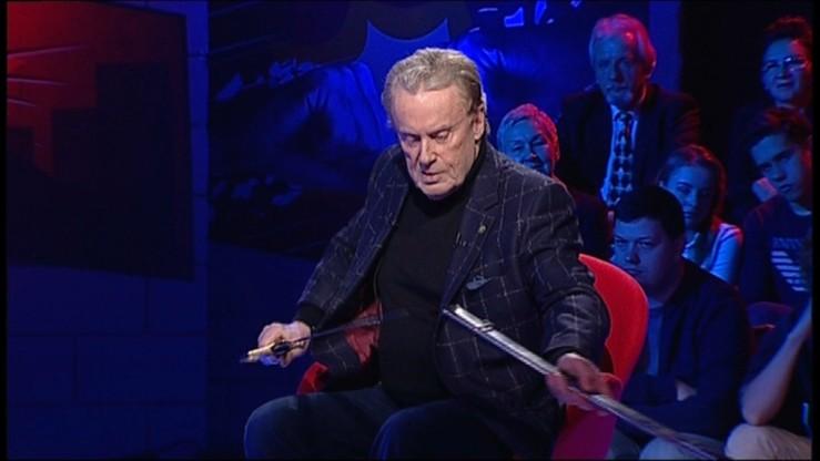 """""""Tak mi doradził adwokat"""". Olbrychski o zdemolowaniu wystawy """"Naziści"""""""