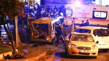 10-12-2016 21:46 Dwie eksplozje przy stadionie w Stambule. Są ofiary