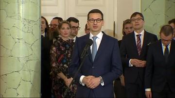 Przemówienie premiera podczas zaprzysiężenia nowych mministrów