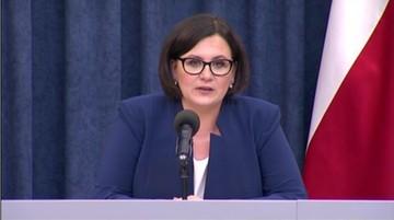 08-06-2017 09:24 Małgorzata Sadurska złożyła rezygnację z funkcji szefowej KPRP