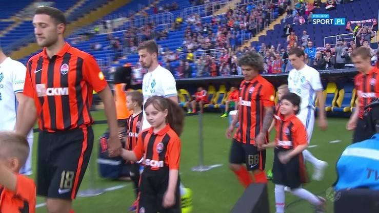 Szachtar Donieck - Dynamo Kijów 2:3. Skrót meczu