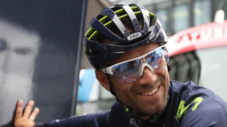Tour de France: Valverde w tym sezonie już nie wystąpi