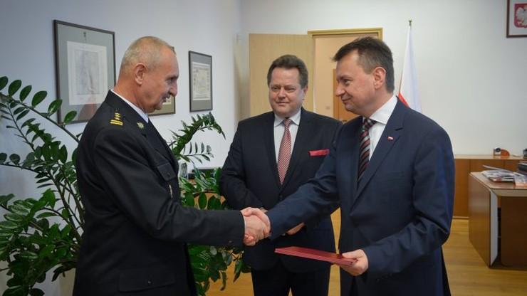 Leszek Suski nowym komendantem głównym Państwowej Straży Pożarnej