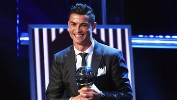 Cristiano Ronaldo najlepszym piłkarzem świata w plebiscycie FIFA. To jego piąty tytuł