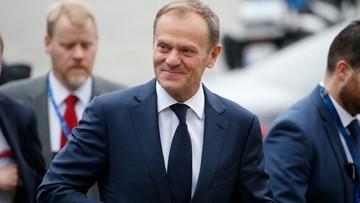 """09-03-2017 19:09 Donald Tusk ponownie szefem Rady Europejskiej. """"Dziękuję za trzymanie kciuków"""""""