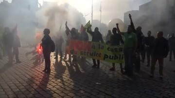 23-09-2017 19:36 Wielotysięczne demonstracje w Paryżu przeciwko reformie prawa pracy