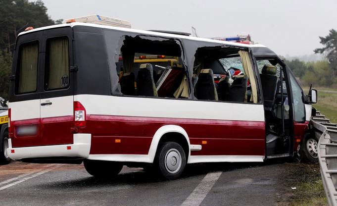 Wypadek w Mierzęcicach (Śląskie) na trasie S1