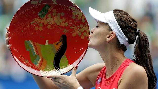 Rankingi WTA - Radwańska awansowała na siódme miejsce