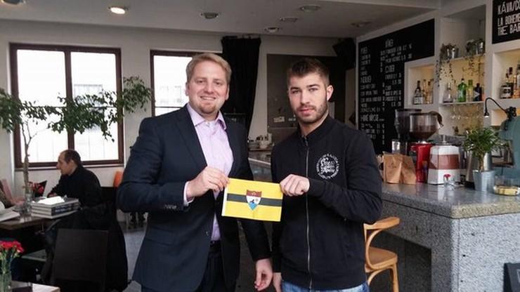 Były piłkarz Polonii Warszawa i Ruchu Chorzów w reprezentacji... Liberlandu