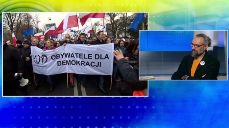 Lider KOD o liczbie demonstrantów w sobotę: policja zmieniła zdanie