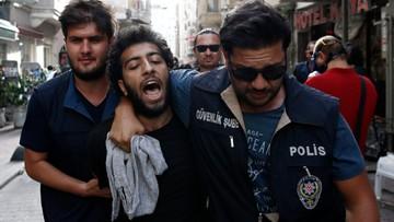 19-06-2016 18:14 Turcja: gaz przeciwko uczestnikom zakazanej parady Gay Pride