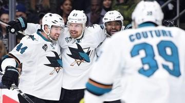 2017-01-11 NHL: Hat-trick Boedkera, zwycięstwo San Jose Sharks