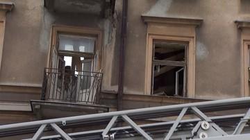 Zawaliła się część kamienicy w Lublinie. Jedna osoba poszkodowana