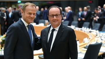 29-04-2017 13:34 Tusk: szczyt UE-27 przyjął jednomyślnie wytyczne ws. Brexitu