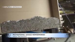 CBŚP przejęło 5 milionów nielegalnych papierosów, zlikwidowano dwie fabryki