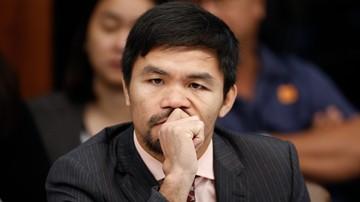 2016-10-31 Przed walką Pacquiao - Vargas: Manny - senator czy pięściarz?