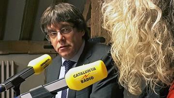 07-11-2017 16:09 Puigdemont wzywa katalońskie partie do jedności