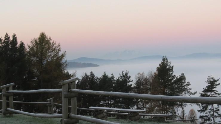 2016-10-30 Zimowy krajobraz w Muszynie. Pierwszy oddech zimy