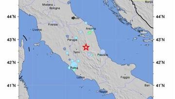 18-01-2017 11:40 Wstrząs sejsmiczny w środkowych Włoszech