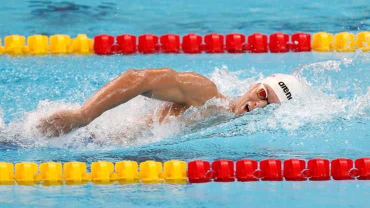 Wojdak awansował do finału 800 metrów kraulem