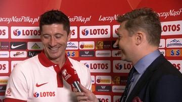 """Lewandowski skuteczniejszy od Laty. """"Mam więcej bramek? To fajnie. To coś, co mnie napędza"""""""
