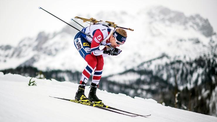 PŚ w biathlonie: Johannes Boe ponownie najlepszy