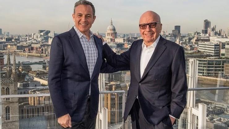 Disney kupił aktywa 21st Century Fox za ponad 52 mld dolarów