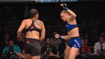 2017-01-03 UFC 207: Rousey zarobiła 62,5 tysiąca dolarów za sekundę walki!