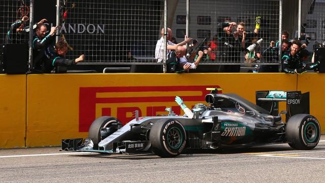 Formuła 1 - Niemiec Nico Rosberg wygrał GP Chin w Szanghaju