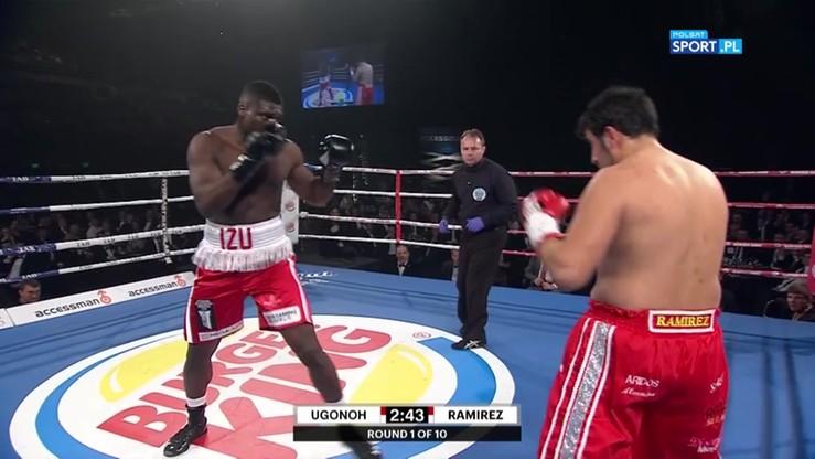 2016-07-21 Izuagbe Ugonoh - Ricardo Ramirez. Skrót walki
