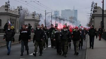 """10-11-2016 13:24 Marsz narodowców nie dla wszystkich dziennikarzy. """"Nie spełnili standardów społeczności Marszu"""""""