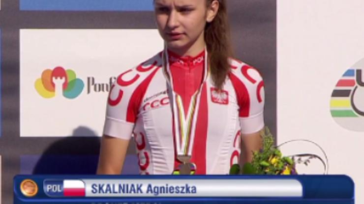 Polka brązową medalistką MŚ w kolarstwie!